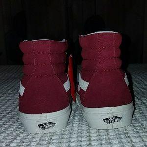 d08701d7a4 Vans Shoes - NWT Van s Sk8-Hi Maroon Skate Shoe High Tops